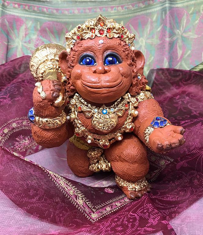 Brigitte Saugstad Hanuman Royal-2 H