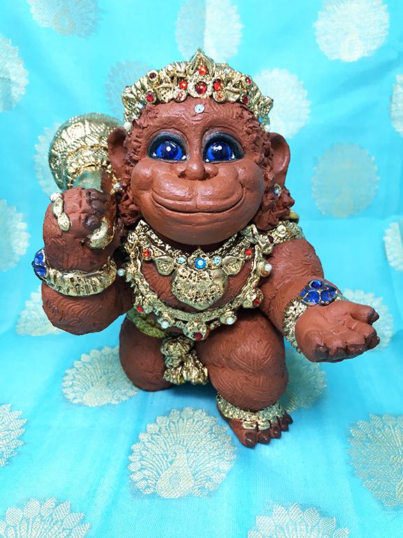 Brigitte Saugstad Hanuman Royal-2 I