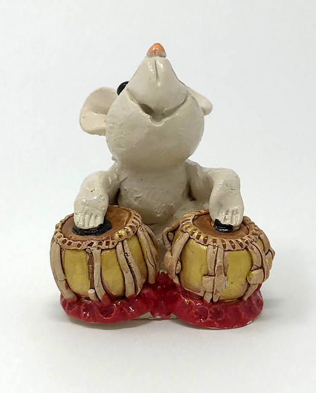 Brigitte Saugstad - Mouse Playing Drums