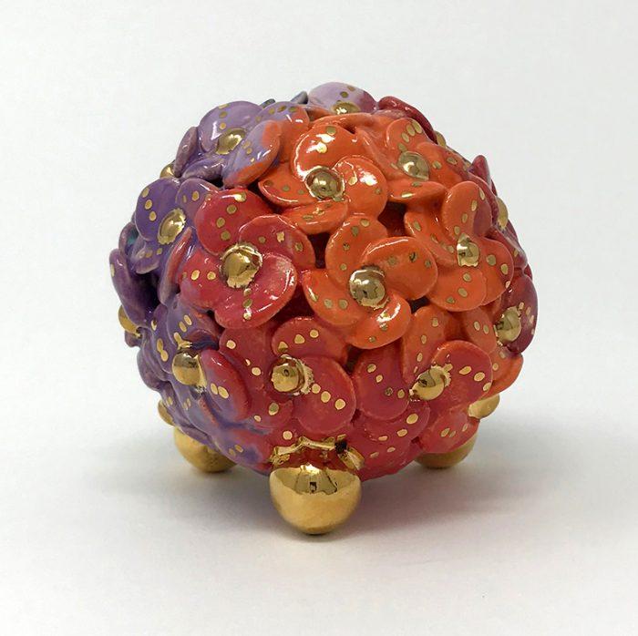 Brigitte Saugstad ViennaBloom-1 Flower Sculpture