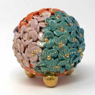Brigitte Saugstad ViennaBloom-2 Flower Sculpture
