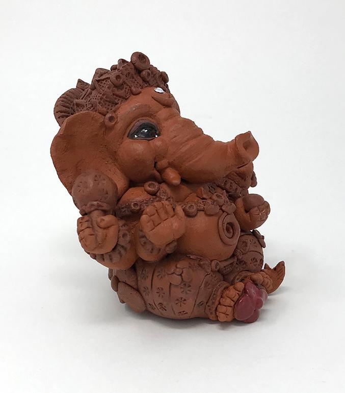 Brigitte Saugstad Ganesha Simple-5 10x10x9 C