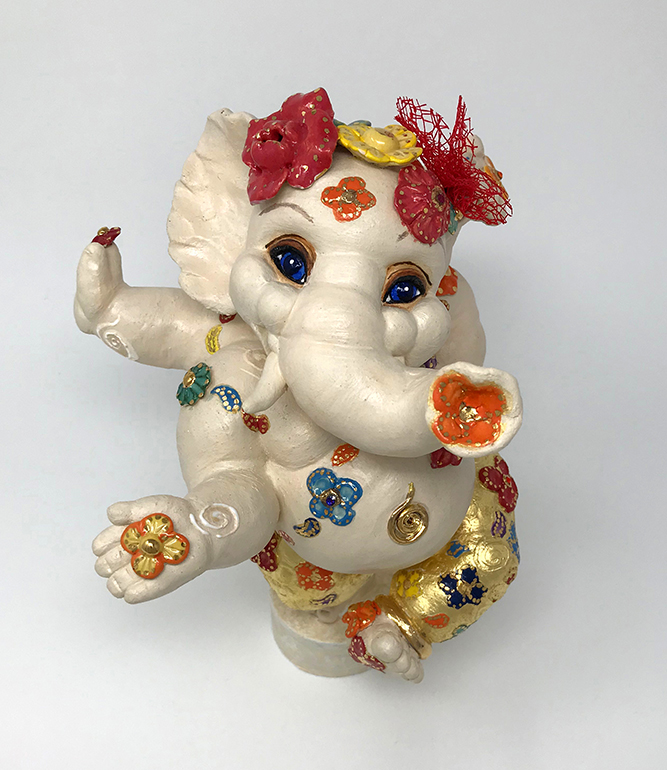 Brigitte Saugstad Ganesha- Dancing on Sunshine