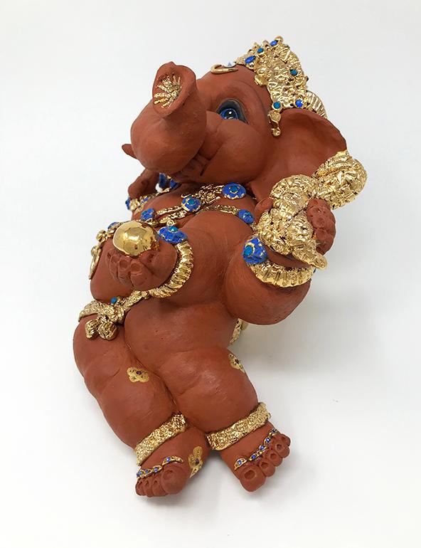 Brigitte Saugstad Ganesha- Eternally Relaxed