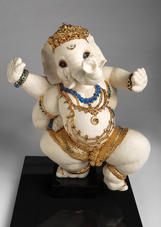 Brigitte Saugstad Ganesha- Lord of the Dance