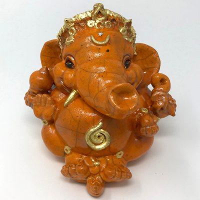 Brigitte Saugstad Ganesha Raku