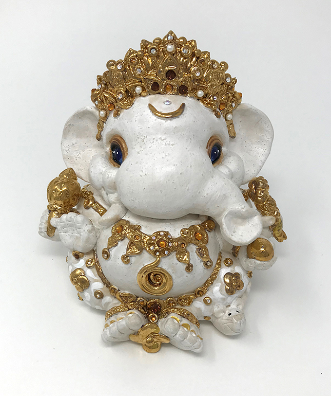 Brigitte Saugstad Ganesha Royal-10 A