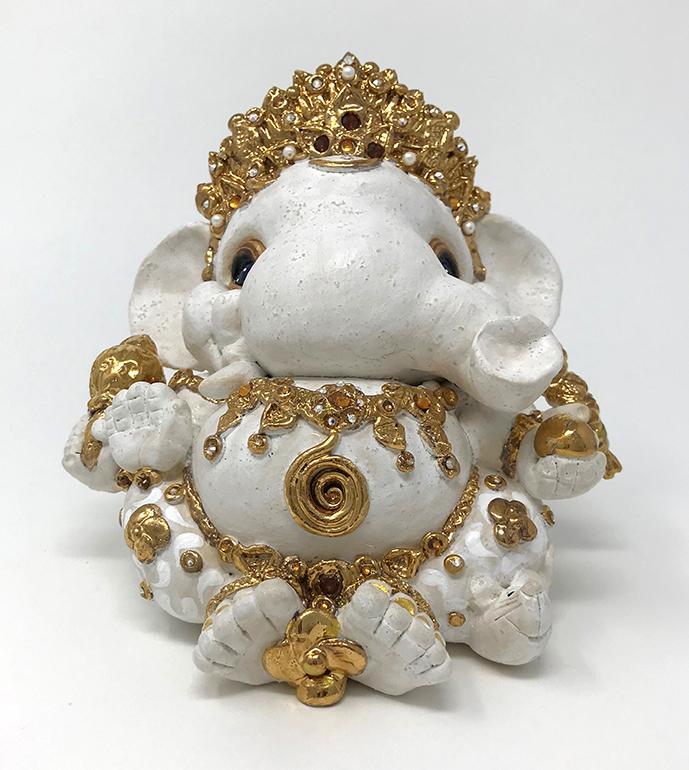 Brigitte Saugstad Ganesha Royal-10 13x14x12 B