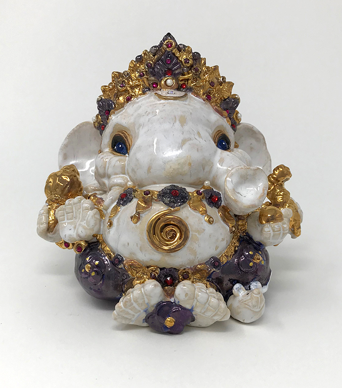 Brigitte Saugstad Ganesha Royal-11 B