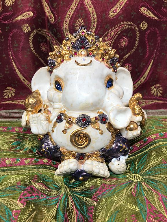 Brigitte Saugstad Ganesha Royal-11 H