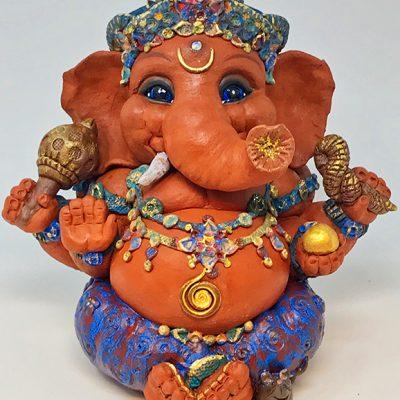 Brigitte Saugstad Ganesha Simple-Glazes