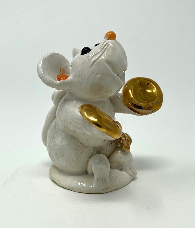 Brigitte Saugstad Mouse-9 statue, sculpture, figurine, mouse -C