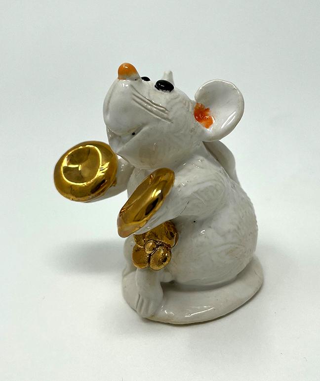Brigitte Saugstad Mouse-9 statue, sculpture, figurine, mouse -E