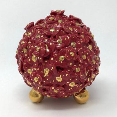 Brigitte Saugstad ViennaBloom Red Grande -A