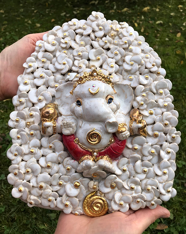 Brigitte Saugstad ViennaBloom Ganesha -B