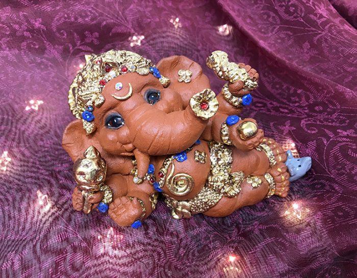 Brigitte Saugstad Ganesha Reclining-3 B