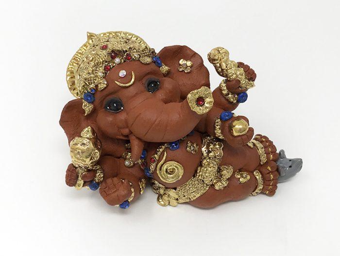 Brigitte Saugstad Ganesha Reclining-3 C