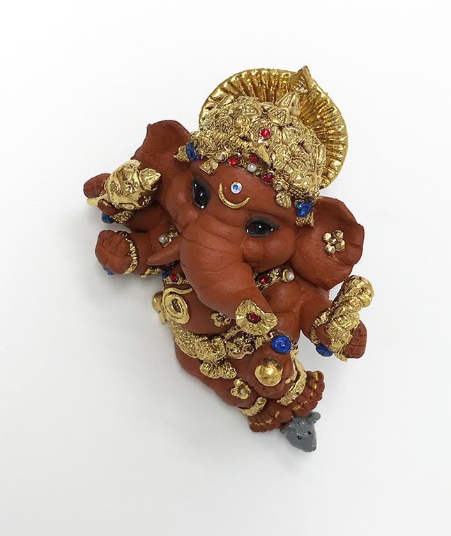 Brigitte Saugstad Ganesha Reclining-3 H