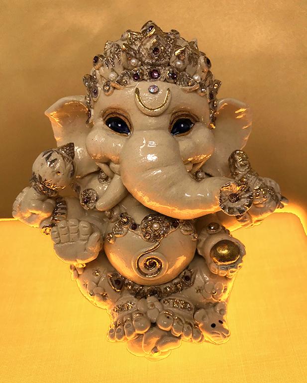 Brigitte Saugstad Ganesha Royal-13 G