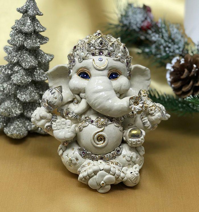 Brigitte Saugstad Ganesha Royal-13 H