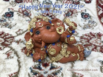 new year 2021 Ganesha