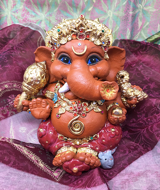 Brigitte Saugstad Ganesha Royal-15 A