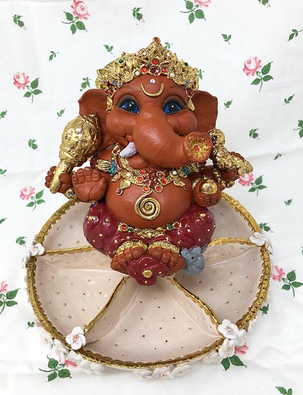 Brigitte Saugstad Ganesha Royal-15 D