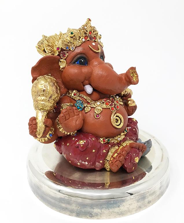 Brigitte Saugstad Ganesha Royal-15 J