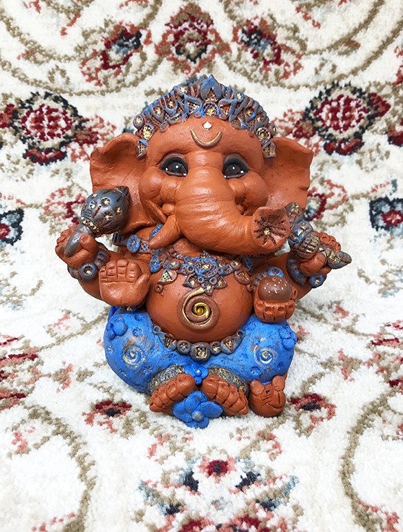 Brigitte Saugstad Ganesha Simple-Glazes-4 B