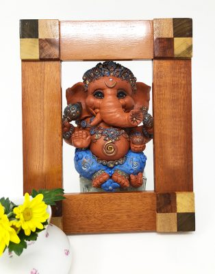 Brigitte Saugstad Ganesha Simple-Glazes-4 D