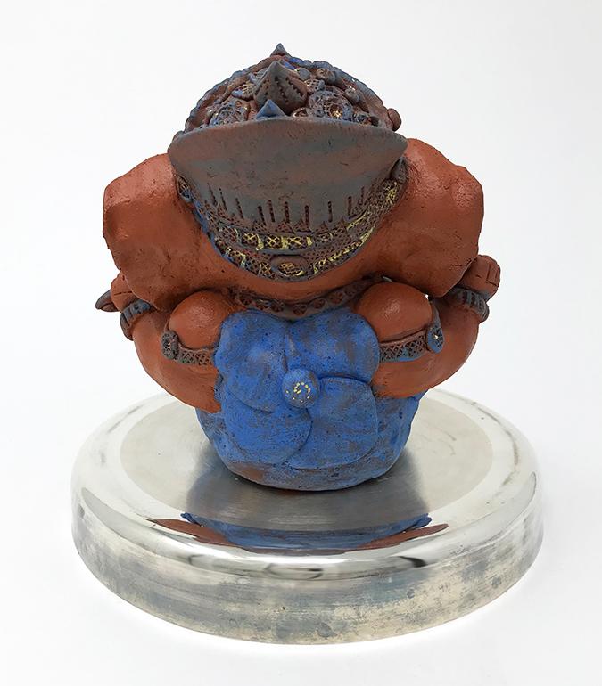 Brigitte Saugstad Ganesha Simple-Glazes-4 G