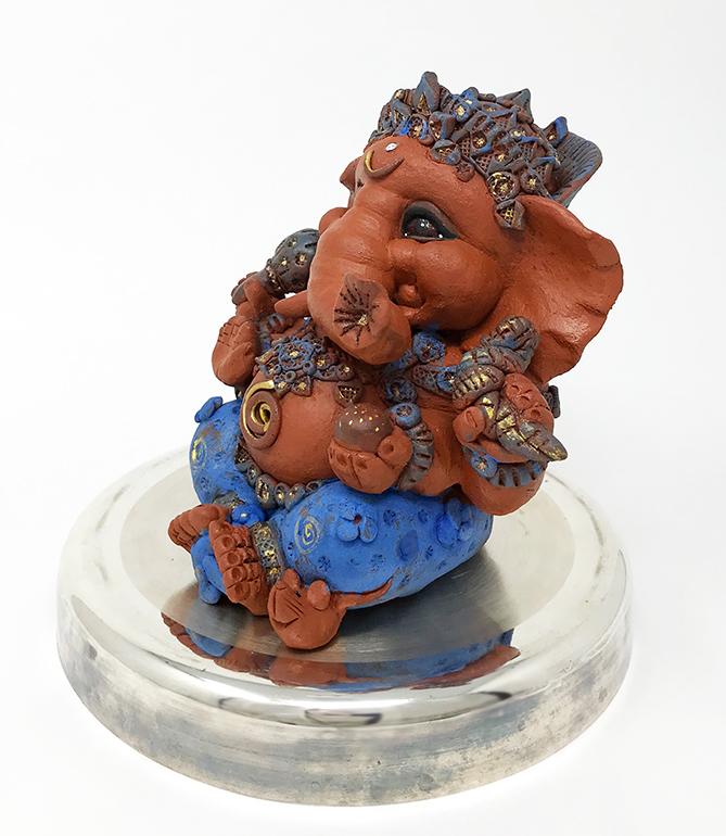 Brigitte Saugstad Ganesha Simple-Glazes-4 H