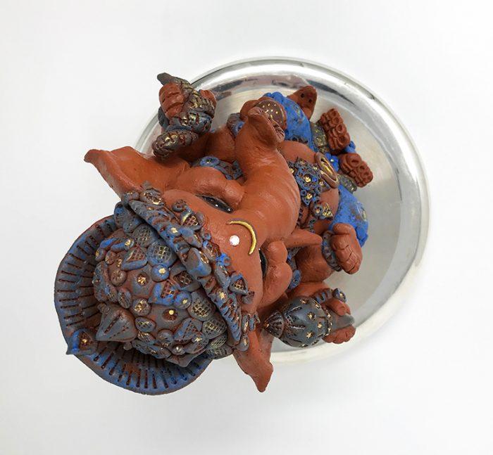 Brigitte Saugstad Ganesha Simple-Glazes-4 I