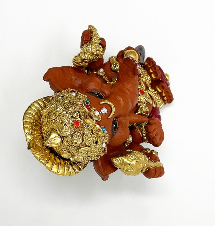 Brigitte Saugstad Ganesha Royal-18F ceramic statue, sculpture, idol, figurine, elephant