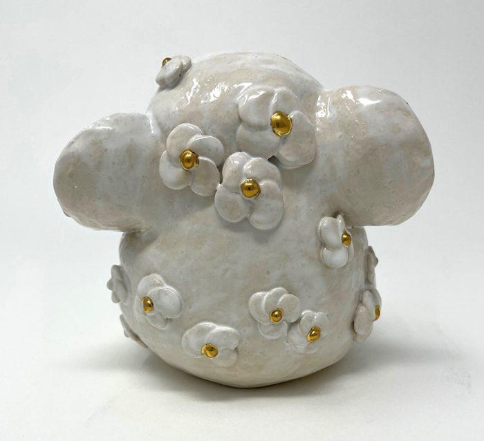 Brigitte Saugstad Ganesha Simple-Glazes-5 statue, sculpture, figurine, elephant -E