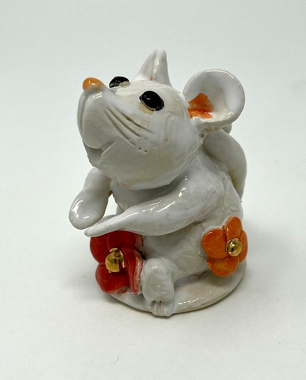 Brigitte Saugstad Mouse-10 statue, sculpture, figurine, mouse -E
