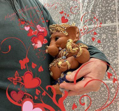 Ganesha Valentine's Day